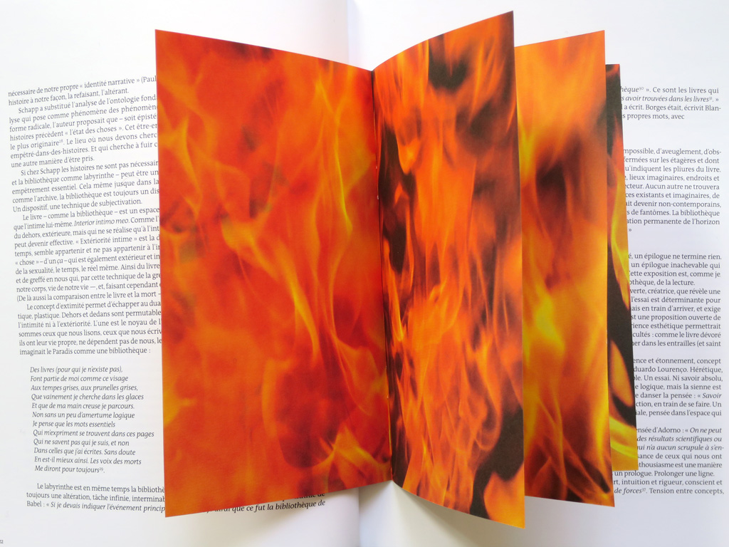 Claude Closky, 'Marque-page [Bookmark],' 2015, Paris: Beaux-Arts éditions. Color offset, 8 pages, 18 x 11 cm.Commission from Paulo Pires do Vale for the exhibition 'Pliure,' Palais des Beaux-Arts, Paris, 9 April - 7 June 2015.